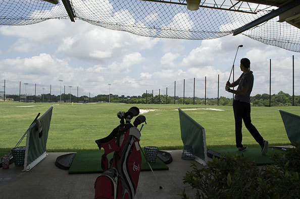 Driving Range Shot